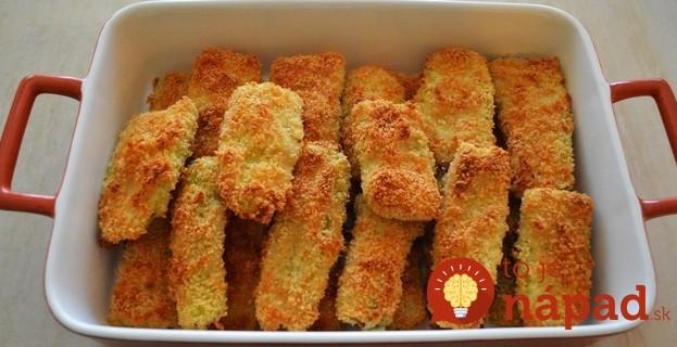 Extra chrumkavé cesnakovo-cuketové tyčinky z rúry: Žiadne vyprážanie a chutia lepšie ako v trojobale!