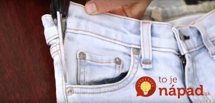 Cutting-Jean-Pockets