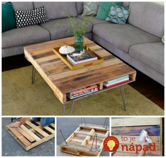 DIY-Pallet-Coffee-Table--550x524