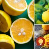 Jednoduchý trik, ako vyťažiť z každého citrónu maximum živín!