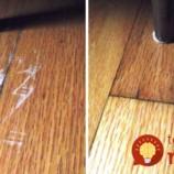 Najjednoduchší spôsob, ako odstrániť škrabance z drevenej podlahy!