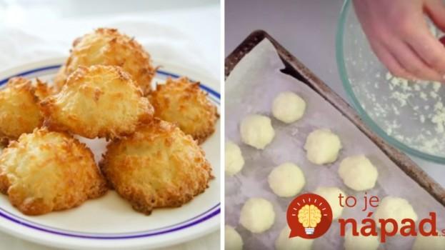 Ako pripraviť vynikajúce kokosky len z 3 prísad?