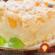 Jednoduchý sypaný koláč s pudingom a marhuľami