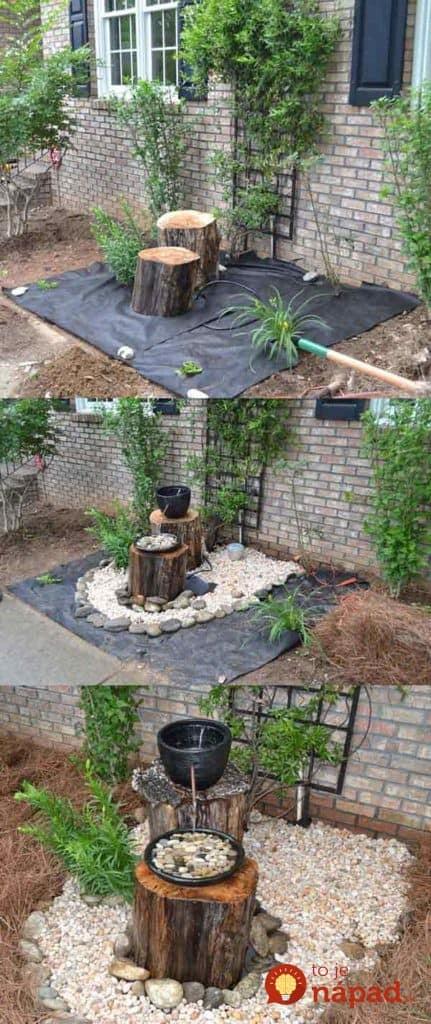 15-DIY-Log-Fountain
