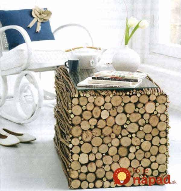 40-wood-log-table