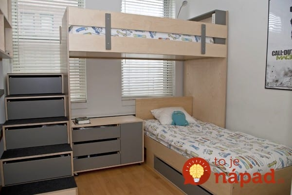 small bedroom ideas with bunk beds 33 geni 225 lnych n 225 padov pre mal 233 detsk 233 izby 20854
