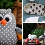 Krásny nápad zo starej ponožky: Vyrobte z nej utešenú sovičku!