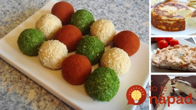 7 tipov na slané aj sladké pochúťky z tvarohu, ktoré viete rýchlo pripraviť!