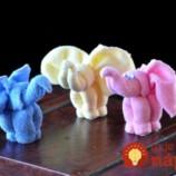 Ako si poskladať krásneho slona z uterákov. Zvládne to úplne každý!