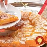 Francúzsky obrátený jablkový koláč