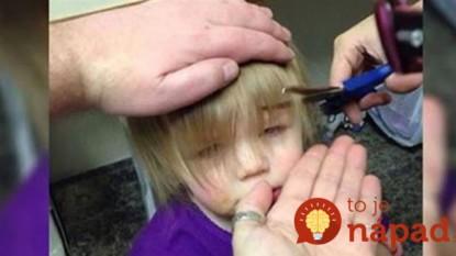Starostlivý otecko netušil, ako ostrihať dcérke vlasy: To, čo vymyslel, budete obdivovať aj vy!