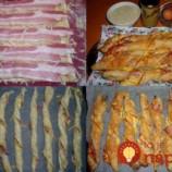 """15-minútové slaninové """"Twister"""" tyčinky"""