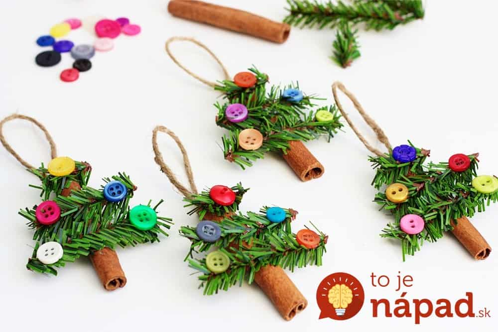 Fab Ideas On Button Crafts For Christmas Decorations - Best Christmas Moment