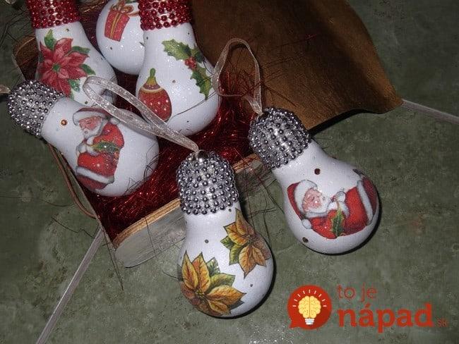 homemade-christmas-tree-ornaments-decoupage-santa