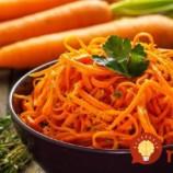Chrumkavý mrkvový šalát v sladko-kyslom náleve!