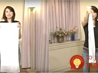 1 jednoduchý pohyb a 1 minúta denne. Spoznajte revolučnú japonskú metódu chudnutia!