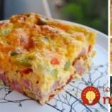 Skvelé raňajky pre celú rodinu: Pripravte si fantastickú omeletu na plechu!