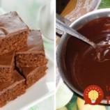 Poleva aj cesto z jednej várky: Bleskové čokoládové kocky pripravené za menej ako 10 minút!