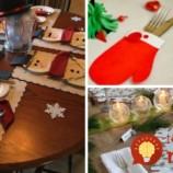 """Najkrajšie nápady na vianočné prestieranie + """"Urob si sám"""" dekorácie na sviatočný stôl!"""