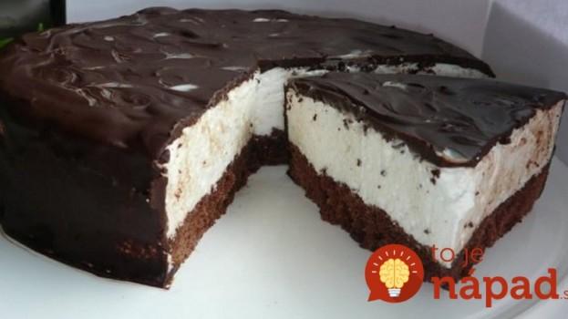 """Fantastická """"Eskimo"""" torta: Chutí ako zmrzlina!"""