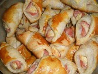 Chrumkavé taštičky so šunkovo-smotanovou náplňou!