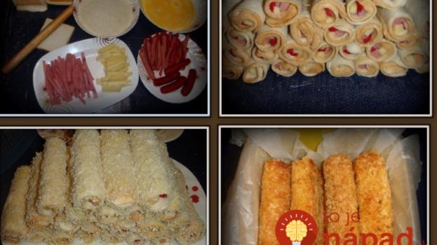Šunka, syr a toastový chlieb: To je všetko, čo potrebujete na prípravu perfektnej chuťovky!