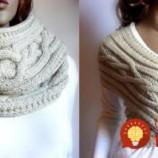 Toto je úžasné: 1 šál môžete za pár sekúnd premeniť na šaty, sveter, vestu a množstvo ďalších kúskov oblečenia!