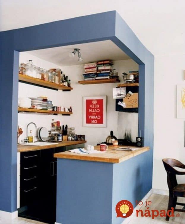 17 Cute Small Kitchen Designs: 33 Krásnych Nápadov Pre MINI-kuchyne