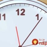 Neviete sa naučiť anglické hodiny? Jednoduchá pomôcka, s ktorou to hravo zvládnete vy aj vaše deti!