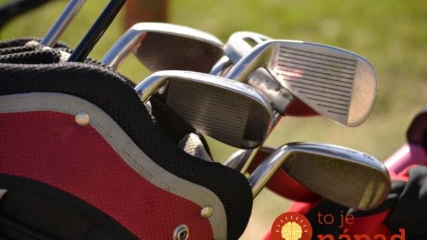 Deti a golf