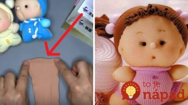Staré silonky nevyhadzujte: Takto jednoducho z nich vyrobíte utešenú mäkučkú bábiku!