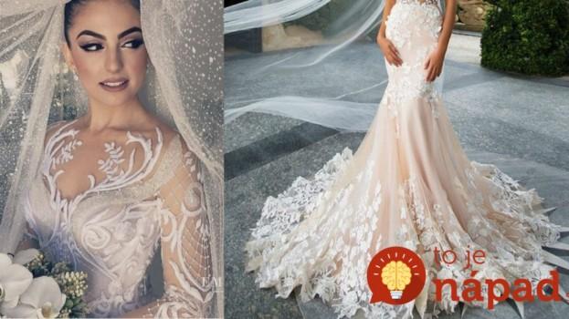 Vzdušné, ľahké ako prierko a také krásne, že vám vezmú dych: Toto sú najštýlovejšie svadobné šaty na rok 2017!