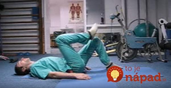 Ruský chirurg ukázal pár jednoduchých pohybov, vďaka ktorým sa vyhnete operácii chrbtice!