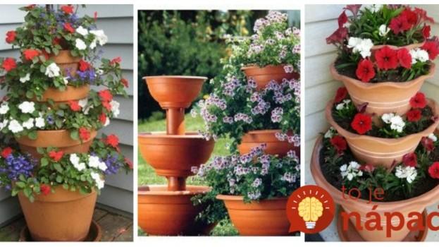 Vyrobte si úchvatné kvetinové fontány: 11 krásnych nápadov, ktoré budú ozdobou vašich záhrad!