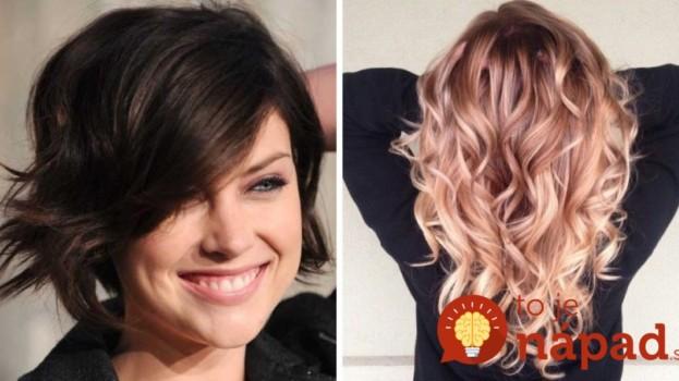 Top trendy v účesoch a farbách vlasov na tento rok: Z týchto inšpirácií si určite vyberiete!