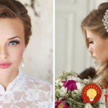 35 nádherných svadobných účesov pre rôzne dĺžky vlasov!