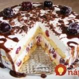 Úžasne chutná piškótová torta bez pečenia: Taká fantastická, že tromfne aj zložité pečené dezerty!