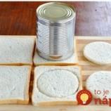 Z chleba vykrojila kruhy a vložila ich do formy na muffiny: Naučte sa tento recept a ani nečakaná návšteva vás už neprekvapí