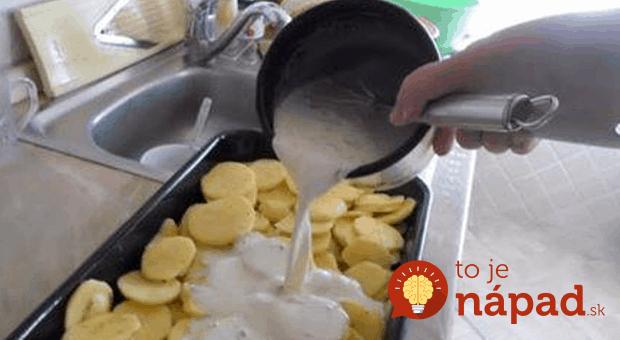 Naučte sa tento recept na neodolateľné krémové zemiaky a už nikdy nebudete váhať, čo na obed!