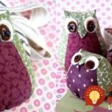 """Vyrobte si utešené vankúše """"sovičky"""": Je to jednoduché a môžete ich zhotoviť aj bez šitia!"""