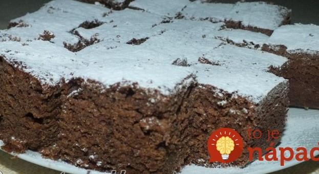 Marmeládovo-čokoládové kocky z 1 vajíčka: Najjednoduchší a najlepší koláč našich babičiek!