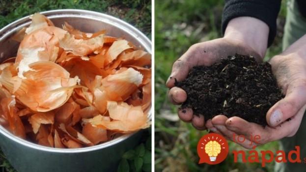 Úžasný dôvod, prečo som do svojej záhrady rozsypala cibuľové šupky a mali by ste aj vy!