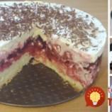 3 prísady na cesto, 3 prísady na krém: Jednoducho úžasná čerešňová torta s luxusným krémom!