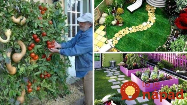 Profesionálny záhradník ukáže 27 šikovných nápadov, ako perfektné využiť malý dvor a záhradu!