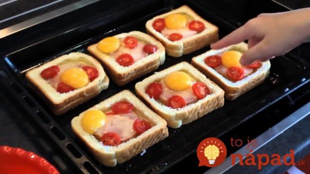 Zabudnite na obyčajné obložené chlebíky: Keď ich pripravíte takto, vaši hostia vás budú nosiť na rukách!