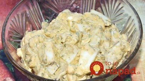 Top vajíčkový šalát s citrónom, kôprom a skvelou zálievkou: Pripravený za 15 minút, zjedený okamžite!