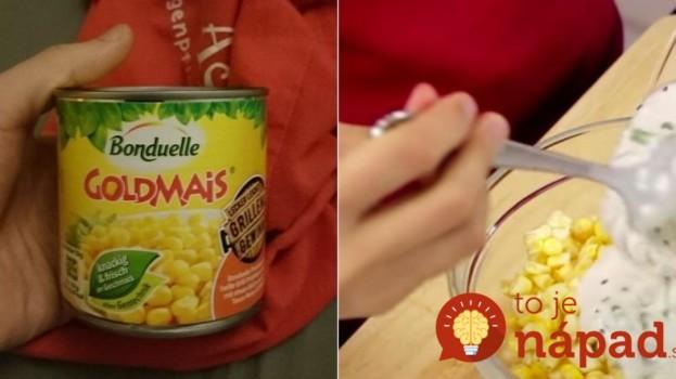 Máte doma jednu konzervu kukurice? Gordon Ramsay vám ukáže, ako z nej pripraviťperfektnú večeru za 15 minút!