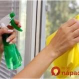 Neznášate časté drhnutie okien? Vďaka tomuto triku vydržia čisté omnoho dlhšie, ako ste zvyknutí!