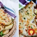 Rýchla náhrada chlebíka: Výborné jogurtové placky s cesnakom, pečené na sucho!