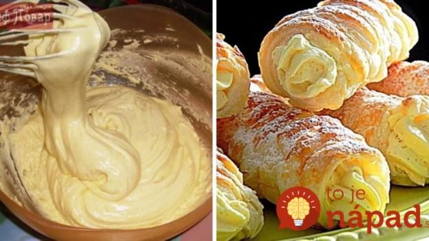 Najlepší žĺtkový krém: Fantastický do zákuskov, tort a všetkých dezertov, na ktoré si len spomeniete!